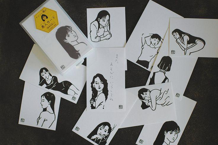 倉敷意匠 ナンシー関の美人カード 100枚入