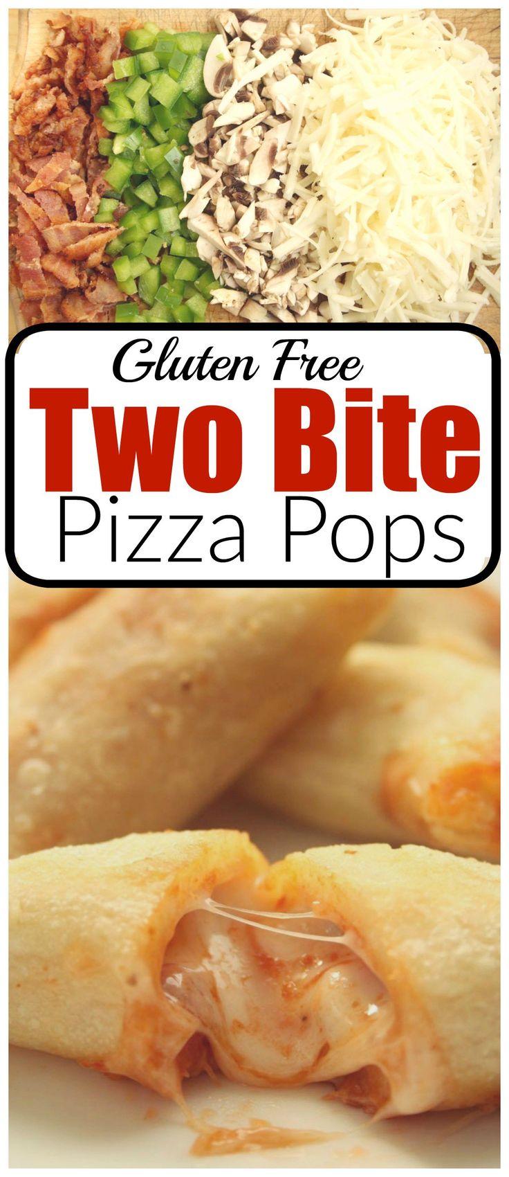 Two Bite Pizza Pops Gluten Free