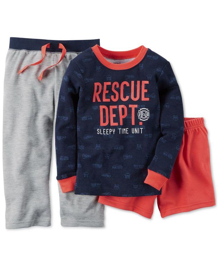 Carter's Baby Boys' 3-Piece Pajamas Set