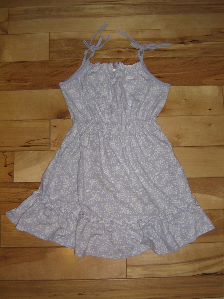 GYMBOREE LOVE IS IN THE AIR SUNDRESS JUMPER 6 EUC (from the January '07 line)   $8.00