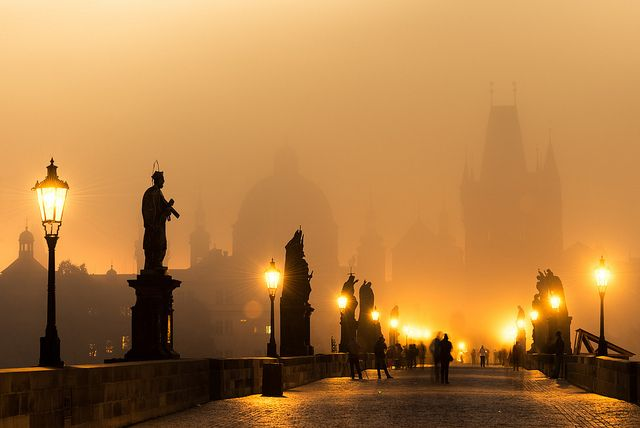 Charles Bridge is a stone Gothic bridge that connects the Old Town and Lesser Town. Location: Prague, Czech Republic Architect: Petr Parléř Commissioned by: Charles IV Year: 1357 Photography: tsomchat