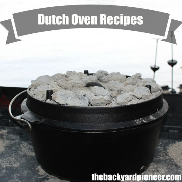When it comes to dutch oven recipes you are only limited for Dutch oven chicken recipes for camping