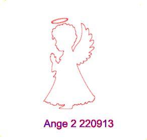 Fichier SST ** Ange ** pour la Silhouette Caméo - scrapbooking carterie silhouette cameo tuto astuce scrap image tube numérique creation