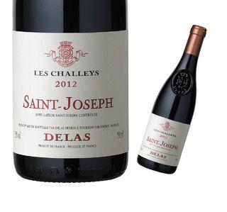 vin rouge delas st joseph cuvée les challeys 2013 syrah vallée du rhône