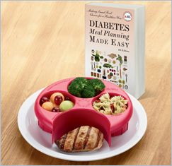 SET: Diabetes Meal Planning Made Easy & Healthy Portions Meal Measure