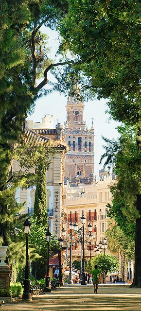 Jardines de Cristina, Sevilla, Spain - So beautiful! I have to go there one day #Isabella #WarriorQueenOfSpain