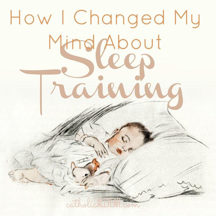 Catholic All Year: How I Changed My Mind About Sleep Training