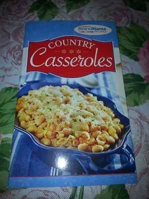 country casseroles cookbook paperback