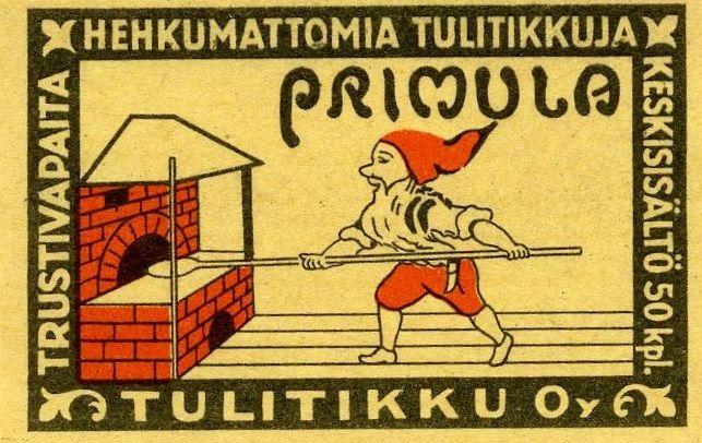 Primula, #tulitikkuetiketit #matchbox #labels