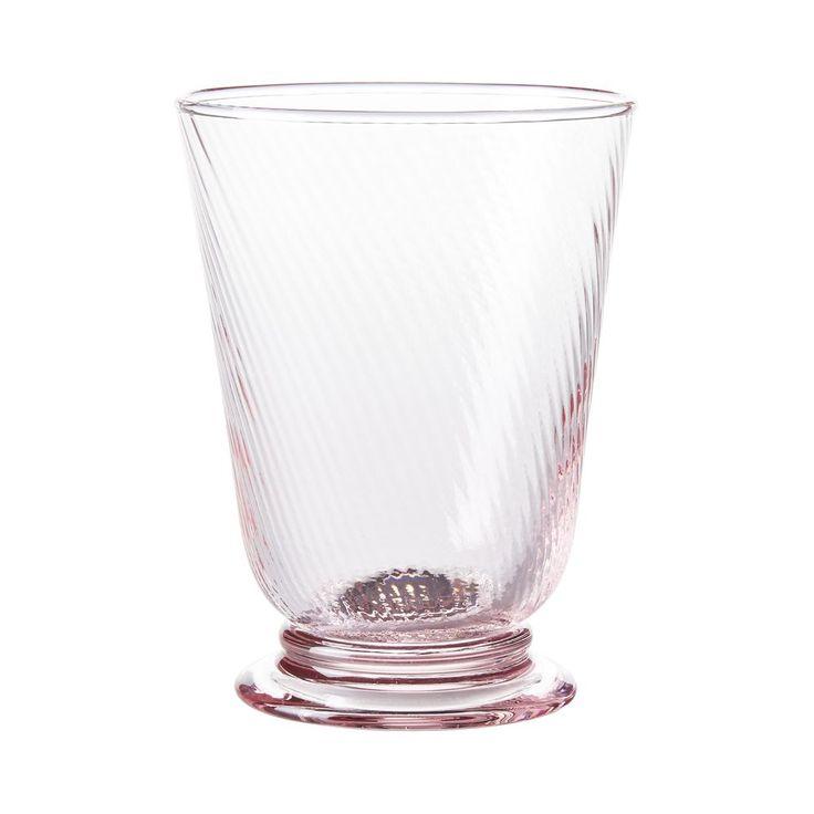 Juliska Arabella Petal Pink Tumbler Glass