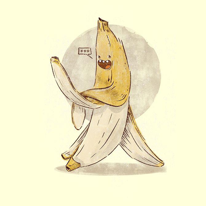 Camiseta 'Banana pra você!' - Catalogo Camiseteria.com | Camisetas Camiseteria.com - Estampa, camiseta exclusiva. Faça a sua moda!