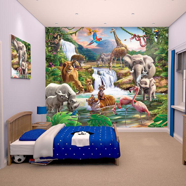 die besten 25 fototapete kinderzimmer ideen auf pinterest kinder fototapete kinder tapete. Black Bedroom Furniture Sets. Home Design Ideas