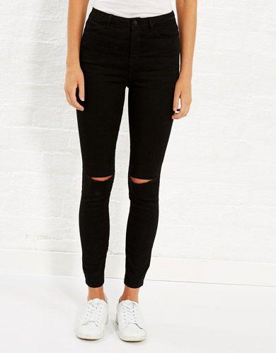 Jessie Cut Knee Jean