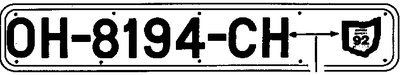 "Boat Registration Number Plates (White Plastic, 4\ X 32-1/2"") By Bernard Engraving Co."" by Bernard Engraving Co.. $19.49. Do Not Include Numbers Or Letters. Apply Bernard's Pressure Sensitive Lettering Before Securing To Hull. Attach Plates With Screws To Wood Hulls. Can Easily Be Removed At Refinishing Time. Also Excellent For Inflatable Boats By Tying To Hand Lines. Use Pressure-Sensitive Plates For Fiberglass Or Metal Hulls. 24\.  White Plastic, 4\"" X 32-1/2\..."