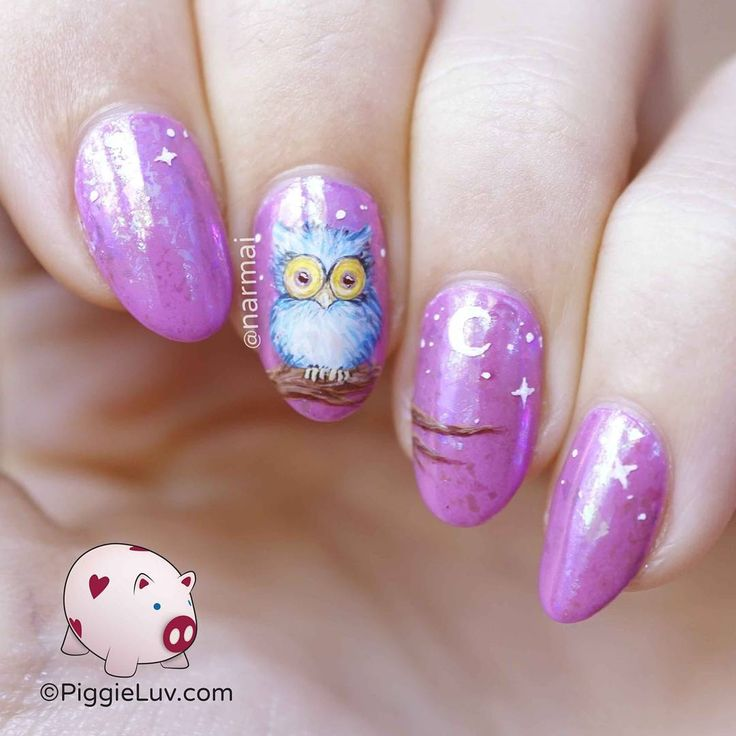 'Whooo' loves purple as much as I do?