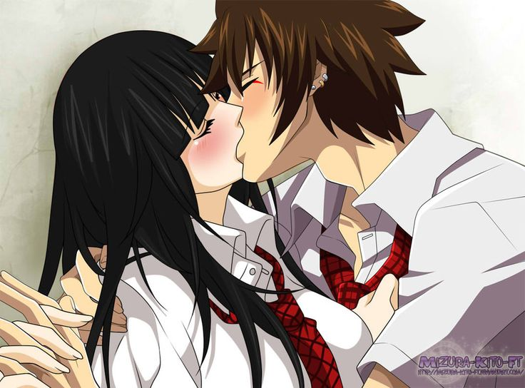 TakaSia Kiss *q* by Mizura-Kito-FT on DeviantArt | Anime ...