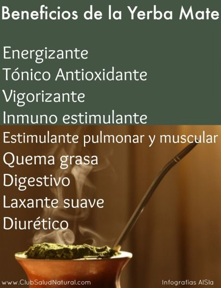 Beneficios y Curiosidades de la Yerba Mate - Club Salud Natural yerbamate