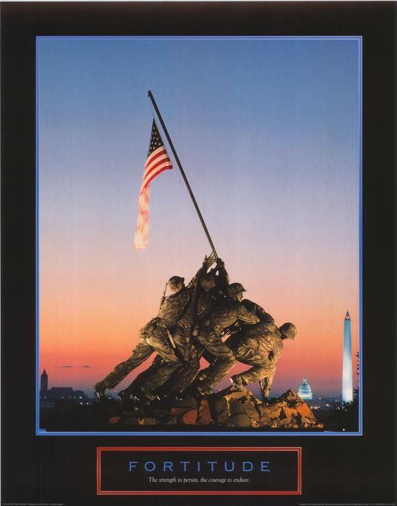 Iwo Jima-Flag Raising 11x17 Movie Poster (2006)