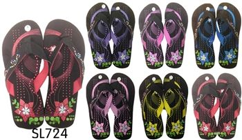 The wide variety of designs and colors available in this kind of footwear make it very popular among women now days @ http://www.usaoptfashion.com/Manufacturer_Wholesale_Lady_Flip_Flops_Sandals_p/sl724.htm