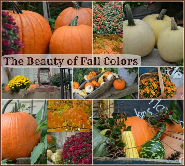 Decorating With Fall Colors: 25 Best Images About Outdoor Fall Decorations On Pinterest