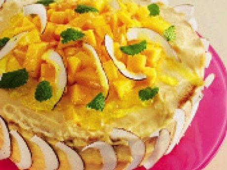 Mangotårta (gluten- och laktosfri) - Recept - Tårta Kakor och bullar Glutenfri   Allt om Mat