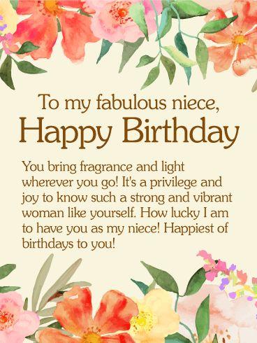 25 Best Ideas About Happy Birthday Niece On Pinterest Happy Birthday Wishes Niece