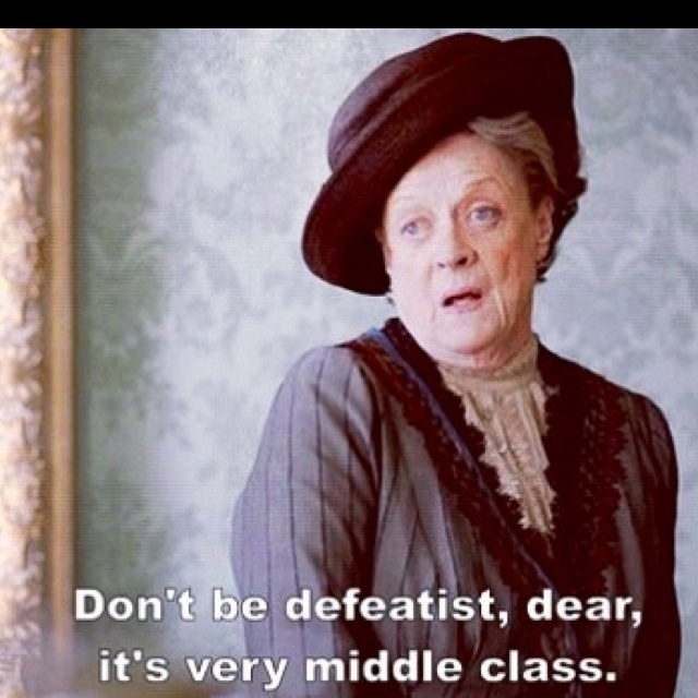 Downtown abbey - love maggie. love this show. So excited for Sunday Season 3 premiere!