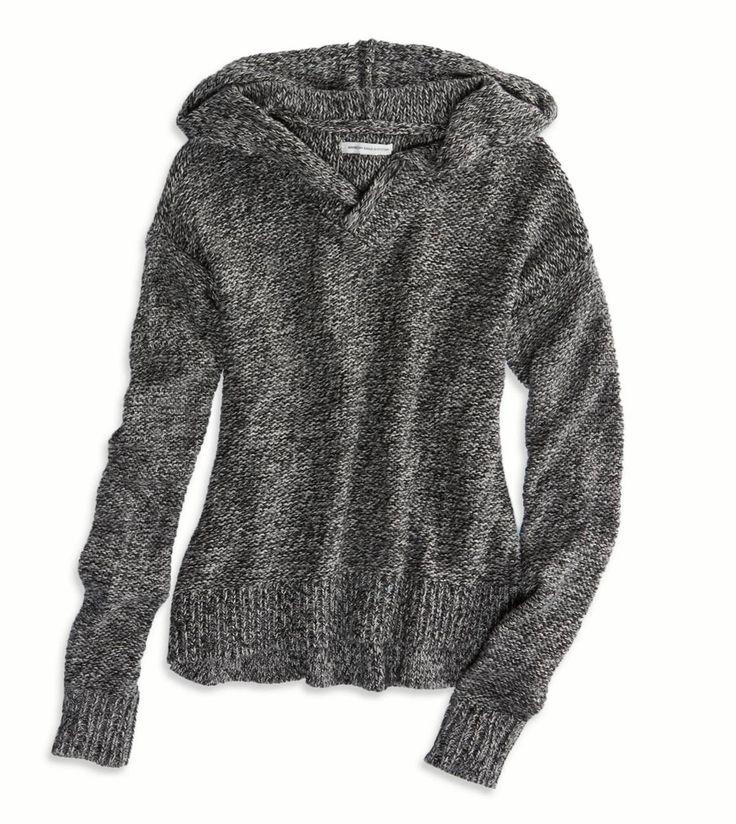 Grey AE Sweater Hoodie