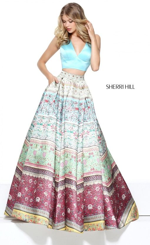 Coming Soon to BridalElegance.us.com | Pre-Order #SherriHill 50792 Prom 2017