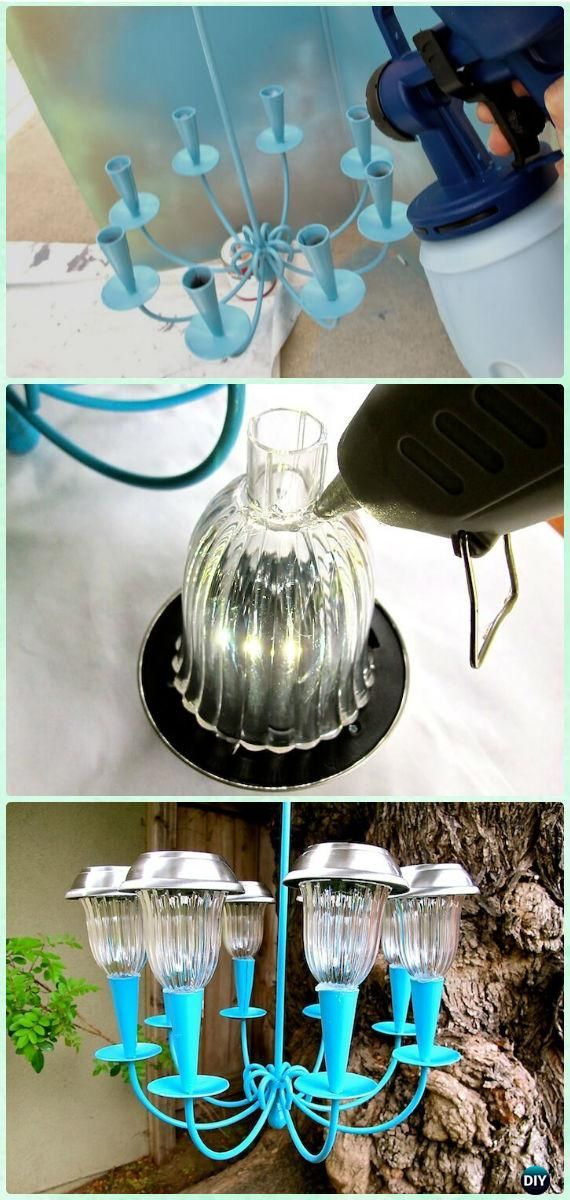 Solar light project for home