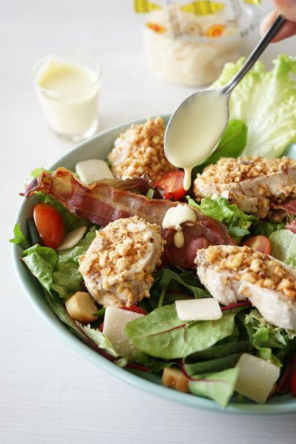 The Cook Time: Salade César, poulet croustillant aux cacahuètes