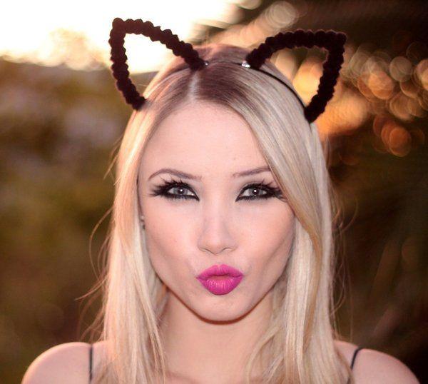 tiara de gatinho