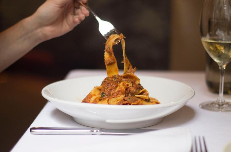 Start your week off on the right foot with authentic, fresh Italian pasta / #TheCecconisWay