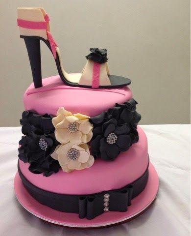Cake Creativity: High Heel Flower Cake