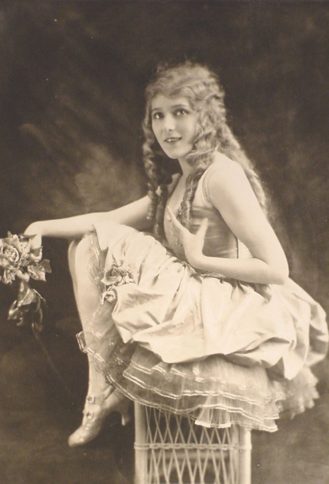 """Mary Pickford...reminds me of my grandmother who always called any pair of shoes I owned with an ankle strap my """"Mary Pickfords"""""""