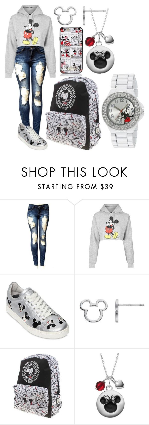 """""""Mickey Mouse!!"""" by pizza-headphones on Polyvore featuring Topshop, MOA Master of Arts, Disney, Kate Spade, Vans and disney"""