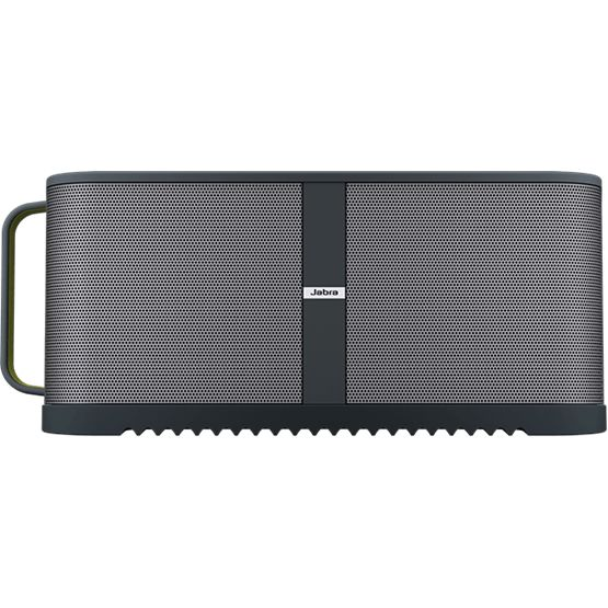 Looking for something bigger than the classic or mini solemate then? Jabra Solemate Max, which is still a portable speaker brings you jaw-dropping sound. Take your music wherever you go and turn your phone into a powerful jukebox.