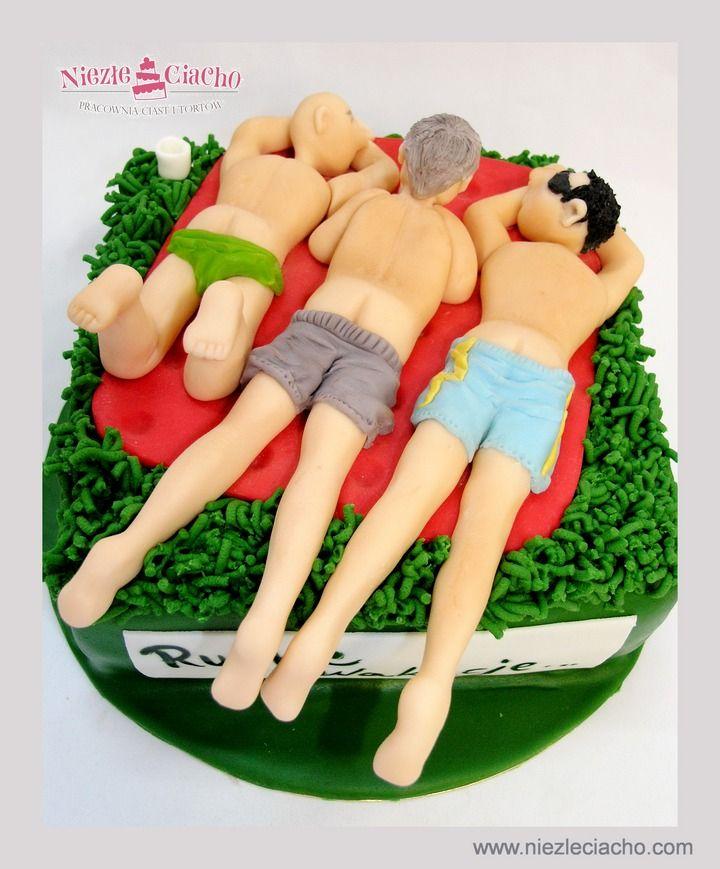 Faceci, mężczyźni, tort na wieczór panieński, wieczór panieński, panna, ślub, torty okazjonalne, niezłe ciacho