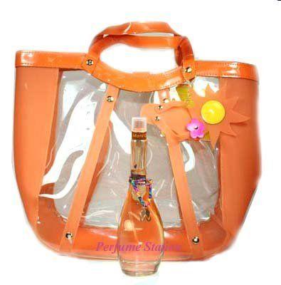 Miami Glow By J.lo 2pc Set Includes: 3.4 Oz Edt Spray + Summer Tote Bag by J.Lo. $55.00. 2 PIECE SET. 3.4 OZ EDT SPRAY WOMEN. TOTE BAG. 2 PIECE SET