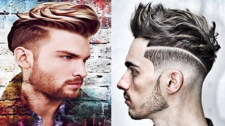 UNDERCUT Hair Men 2016 - MID FADE- DESIGN - BARBER TUTORIAL!!!