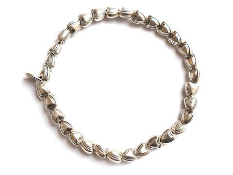 Metalized Plastic Beads Strech Elastic Bracelet, bridemaid
