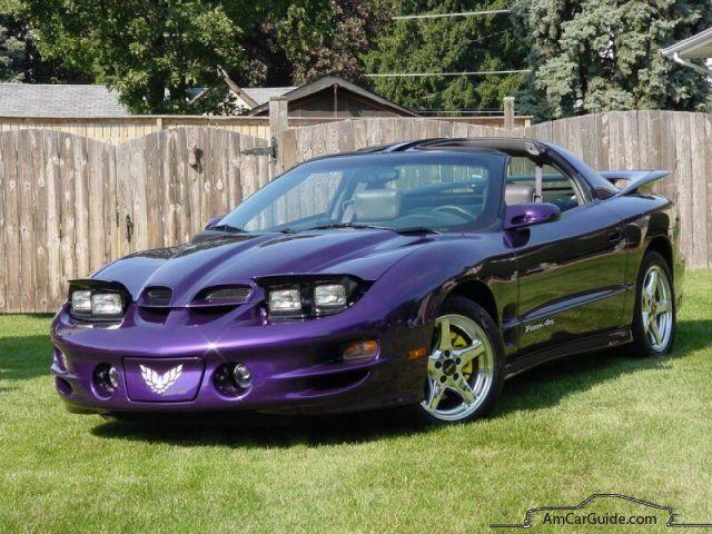 Bright‑purple‑metallic‑pontiac‑firebird‑trans‑am Pontiac Firebird: 1992-2002, 4th generation
