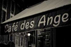 Day#2 Where to eat in Bastille?  66, Rue de la Roquette  75011 Paris Cafe des anges!!