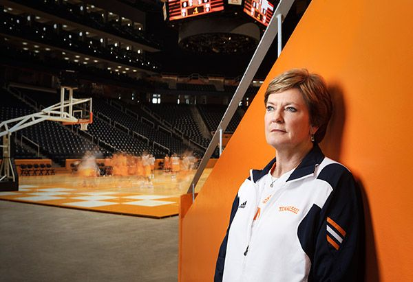 """""""Game On: Pat Summitt on the Fight of Her Life"""" by Pat Summitt for Oprah Magazine.For 38 years, she coached college hoops—the legendary University of Tennessee Lady Vols—capturing eight national championships and setting the all-time record for wins. Before that she was a formidable """"slasher"""" and co-captain of the first U.S. women's Olympic basketball team. Diagnosed with Alzheimer's disease in 2011, the indomitable Pat Summitt now faces the fight of her life. Click the pic to be inspired."""