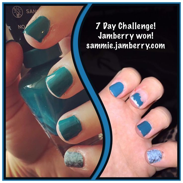 7 Day Jamberry Challenge