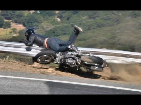 Ducati Monster Motorcycle Crash - May 13, 2012