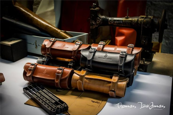 "We are excited to show you our first samples of our project ""leather bike accessories"". We have been working hard for more than 1 year in order to organize and equip our lab with all the machinery and skill needed for those high quality leather accessories for your bicycle. 100% handmade - Thomas Tzadimas photography"