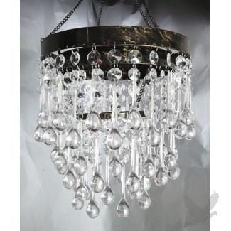 Teardrop chandelier crystal