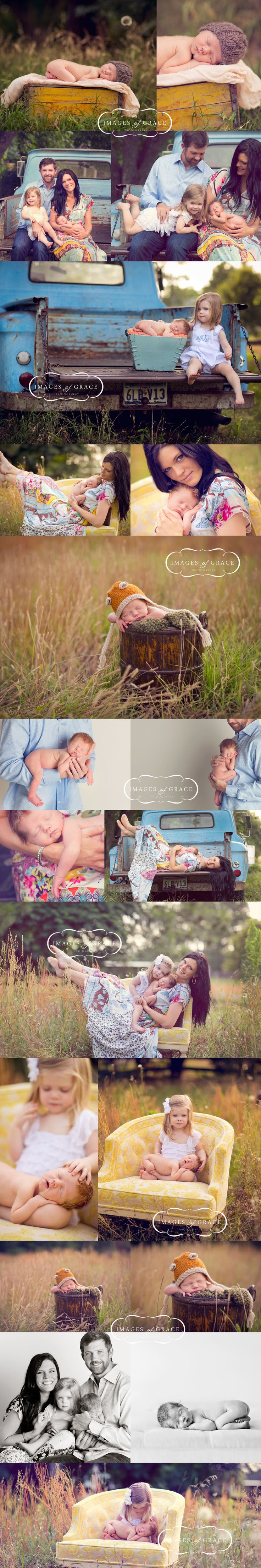 Amazing family phot shoot. One day I'll need to borrow my dads old truck for this.