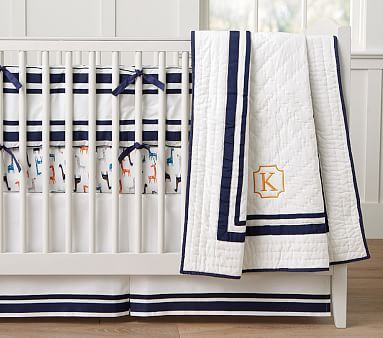 Harper Nursery Bedding Collection but with different accent color. Maybe red?